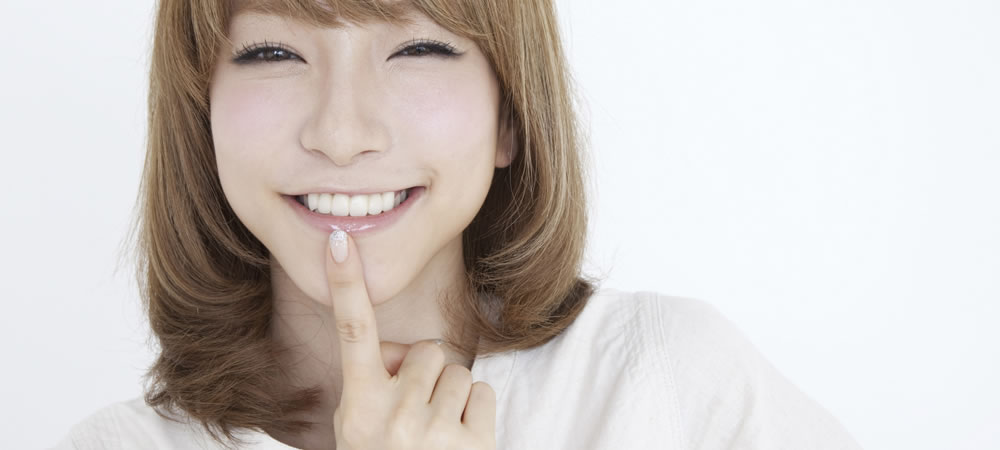 予防歯科と葉の色